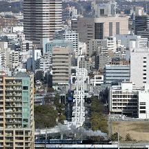 「SL春さきどり号」 千葉ポートタワー俯瞰撮影