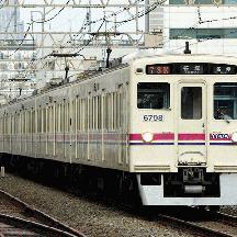 京王6000系 都営新宿線を快走