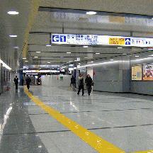 船橋駅 2階コンコース供用開始