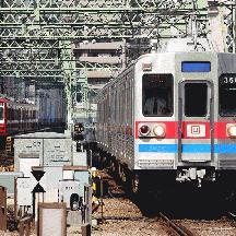 京成3600形3668編成 京急線を走る