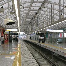 日暮里駅下り線新ホーム 供用開始