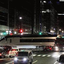 京成AE形陸送 ~ 130kmの軌跡 4 - 江戸橋一丁目の大右折
