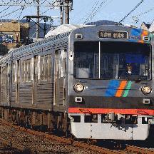 静岡鉄道 2010年春 1 - 進むスカート設置