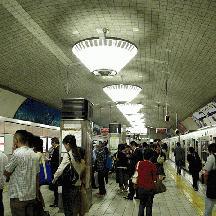 御堂筋線シャンデリアコレクション 1 - 心斎橋駅