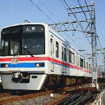 京成線 日中快速の佐倉折返しを見る