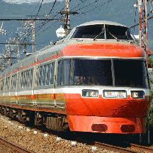 小田急7000形 旧塗装LSEを追う 1 - 「特 急」