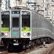 都営新宿線の8連運用 - 笹塚行