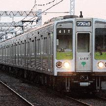 都営新宿線の8連運用 3 - つつじヶ丘行