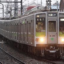 都営新宿線の8連運用 4 - 京王多摩センター行