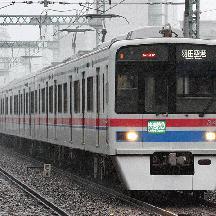 京急線 「快速特急」表示の「快特」