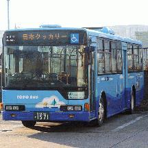 東洋バス 千葉シーサイドバス塗装の大型車が登場