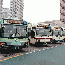 都営バス 90周年記念旧塗装ラッピングバス撮影会