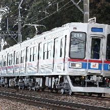 芝山鉄道3500形 京成カラーのままで全検出場