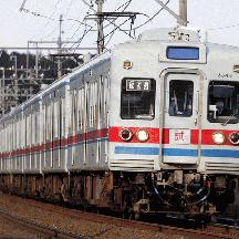 京成3300形3344+3304編成 8両編成で試運転