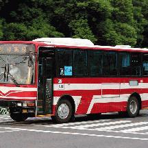 東洋バス1696号車 メトロ窓のKC-MK系エアロミディ