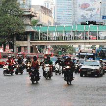 タイ 灼熱のバンコク交通見聞 3 - バンコク路線バス事情