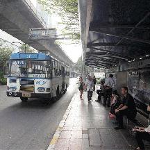タイ 灼熱のバンコク交通見聞 4 - バンコクの路線バスに乗る