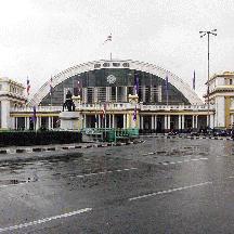 タイ国鉄の旅 1 - バンコク・フアランポーン駅の喧騒