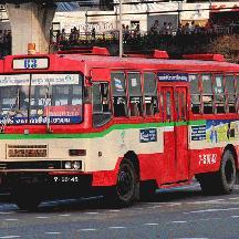 タイ 灼熱のバンコク交通見聞 5 - バンコクのバスあれこれ