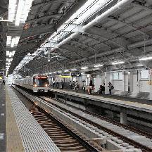 京成押上線 曳舟駅付近の高架化完成