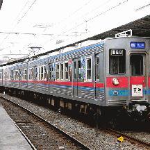 京成3500形 葛飾観光PRラッピング電車