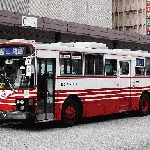 広島バス2012年秋 - 富士重工5Eボディの古参車両
