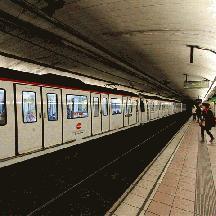 スペイン バルセロナ交通散歩 2 - 地下鉄に乗るっ