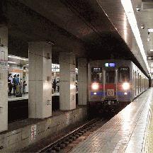京成3500形未更新車 都営浅草線を走る