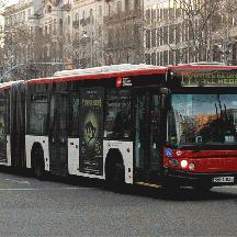 スペイン バルセロナ交通散歩 5 - 路線バスに乗るっ