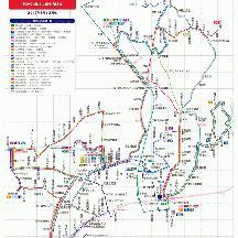 東洋バス路線図 2012年9月1日版