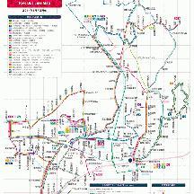 東洋バス路線図 2014年1月7日版