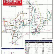 東洋バス路線図 2016年3月16日版