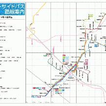 千葉シーサイドバス路線図 2015年4月18日版