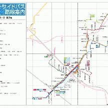千葉シーサイドバス路線図 2016年4月1日版