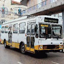 ポルトガル周遊の記 6 - コインブラのトロリーバス