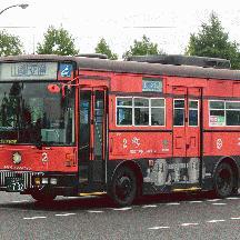 山梨交通C822号車 元東洋バスの日デRN