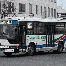 士別軌道 市内線のバス