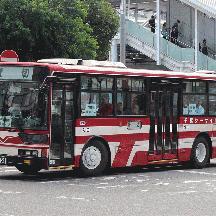 千葉シーサイドバス2891号車 KC-MP系エアロスター