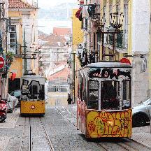 ポルトガル周遊の記 13 - リスボンのケーブルカー ビッカ線