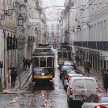 ポルトガル周遊の記 15 - リスボン市電あれこれ(車両篇)