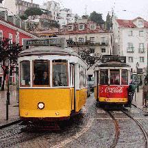 ポルトガル周遊の記 16 - リスボン市電あれこれ(路線篇)