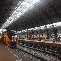 オランダ 少しだけアムステルダム 1 - アムステルダム中央駅