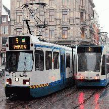 オランダ 少しだけアムステルダム 2 - アムステルダム市電
