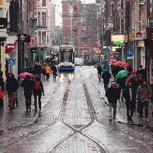 オランダ 少しだけアムステルダム 3 - ライツェ通りのトランジットモール