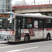 船橋新京成バスM68号車 さようなら「赤バス」旧ボディカラー車両