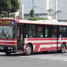 東洋バス1107号車 三菱ふそうPDG-AJ820NAN