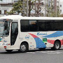 京成バス0800号車 高速バス仕様のリエッセ
