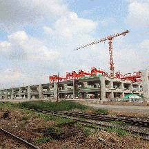 タイ バンコク交通見聞 2016年秋 4 - 建設中のバンスー新ターミナル駅