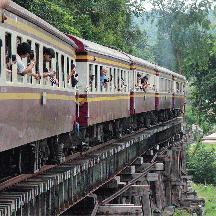 タイ国鉄 泰緬鉄道の旅 3 - ナムトック支線を行く