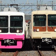 新京成8000形 三者三様で走る日常